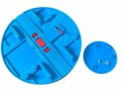 Thomas And Friends Super Station Parts Blue Roundhouse Turntable Track W/screws