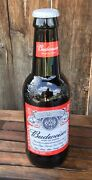 Budweiser Collectable King Pitcher 15 Glass Beer Bottle Bank 64oz