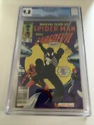 Marvel Team-up 141 Cgc 9.8 /1st Black Suit Newsstand / White Pages Marvel 1984