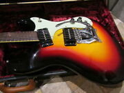 Mosrite And03965 Model Electric Guitar With Hard Case From Japan
