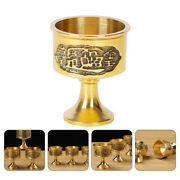 1pc Vintage Style Hand-made Copper Engraving Wine Cup Home Decoration Cups