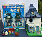 Weebles Haunted House Set 1976 Hasbro With Original Box No Instructions