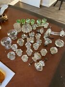 Antique And Vintage Crystal Glass Handles And Knobs