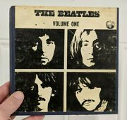 The Beatles Volume One Reel To Reel In Original Box Apple Ampex Collectible