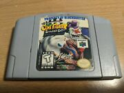 Clay Fighter Sculptorand039s Cut Nintendo 64 Authentic/tested. Cartridge Only
