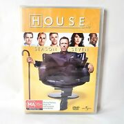 House Md Tv Series Dvd Complete Season 7 Seven - Region 4 Aus Dvd - New And Sealed