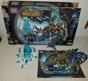 Mega Bloks World Of Warcraft 91008 Sindragosa And The Lich King Set96 Complete