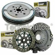 Luk 3 Part Clutch Kit And Luk Dmf For Bmw 5 Series Saloon 523i