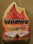 New - Fundex Wildfire Dominoes Family Game 2005 - Factory Sealed