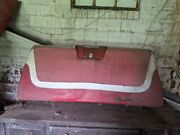 1959 1960 Chevy Impala Sport Coupe Front And Back Seat Oem Speaker Grill