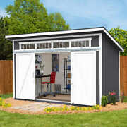 Yardline Santa Clara 12and039 X 8and039 Wood Storage Shed Studio Contact Us For Shipping