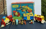 Fisher Price Little People Circus Train Complete With Box 991 1973 Nice