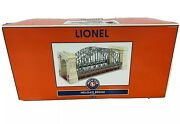 Lionel 6-32999 Hellgate Bridge Tinplate Red Ivory Silver New In Box