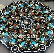Cottage Handicrafts Stone Dining Table Top Marble Patio Table For Garden 48 Inch