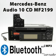 Mercedes Audio 10 Cd Mf2199 Bluetooth Mp3 Aux-in Jack Radio Without Cd Function