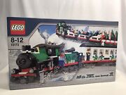 Lego 9v Christmas Train 10173 Holiday Train 100 Real New Sealed Set Made In Usa
