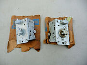 New Old Stock Original 1956 All 56 Ford L And R Door Latch / Lock Pair Fomoco