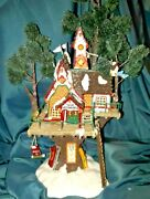 Dept 56 North Pole Woods Town Meeting Hall 56880 Retired