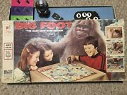 Big Foot The Giant Snow Monster Game 4701, 1977 Milton Bradley, Missing 1 Card