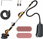 Co-z 800w Folding Drywall Sander W Extendable Handle Vacuum And 12 Sanding Discs