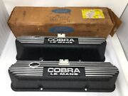 Nos Ford Cobra Mustang Le Mans Valve Covers S7ms-6a582-a Shelby Gt500 1967-70