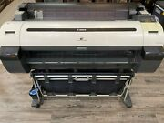 Canon Imageprograf Ipf760 36wide Format Printer 300 Worth Ink Included +more