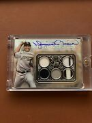 2021 Topps Sterling Mariano Rivera Patch On Card Auto 1/1 One Of One - Yankees