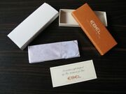 Ebel Watches High Grade Leather Key Ring Chain Brand New In Box Fob Last One