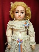 20 Reproduction Doll Of Antique French Bebe Bru, Jne And Cie Beautiful 1975ca+