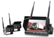Wireless Backup Rear View Camera System Monitor For Rv Truck Bus Caravan 7