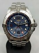 Breitling Super Ocean Cmt A32360 Limited Edition Navy Uesd