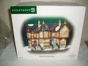 Department 56 Dickens Village 2004 Howard Street Row Houses 58728 A-2092