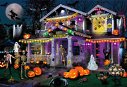 Halloween Puzzlehallwoeen House Jigsaw Puzzles 1000 Pieces 27.5andtimes20in