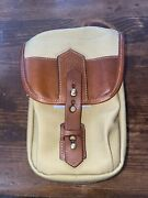 Rare Stunning New Fogg Satchel Pouch Camera Bag For Leica Camera Andldquoxylophoneandrdquo