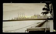 Hw076 Wwii Military Hawaii Negative Month Proceeding Pearl Harbor Ships