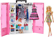 Barbie Fashionistas Ultimate Closet Portable Fashion Toy With Doll Clothing 3