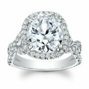 Natural 1.30 Ct Diamond Engagement Rings For Women 14k Solid White Gold Size 5 6
