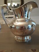 Vintage Berry And Whitemore Co. Sterling Silver 925 Water Pitcher 4 3/4 Pt