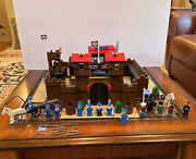 Lego Western Fort Legoredo 6769 W/ Manual And Minifigs - Vintage Extra Figs