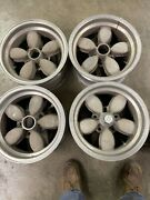 Vintage American Racing 200s Daisy Style Wheels 15x7 Chevy Truck Van Mags