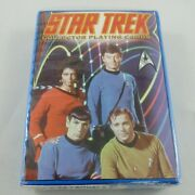 Star Trek Collector Playing Cards First In A Series 2003 Made In Usa New B72