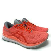 Asics Womens Evoride Running Shoes Size 8 Coral Pastel Athletic 1012a677