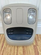 2002-2005 Dodge Ram Overhead Console Dome Map Light Compass Temp Dic Tested