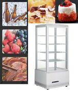 98l Cake Display Cabinet Refrigerated Bakery Showcase Fully-functioning 5 Layer