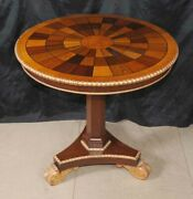Russian Imperial Side Occassional Table Inlay