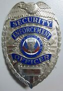 Oand039oand039o . Security Enforcement Officer Badge . Made By Blackinton