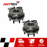 2pc Front Wheel Hub Bearing For 2005-2009 2010 Ford F250 F350 Super Duty Srw 4wd
