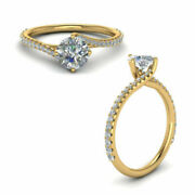 0.83 Ct Natural Diamond Ladies Wedding Rings Solid 14k Yellow Gold Size 5 6 7