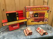 Vintage1973 Kenner Betty Crocker Easy Bake Oven With Box Clean
