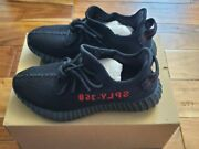 Adidas Yeezy Boost 350 V2 And039bredand039 Black/red Cp9652 Free Shipping